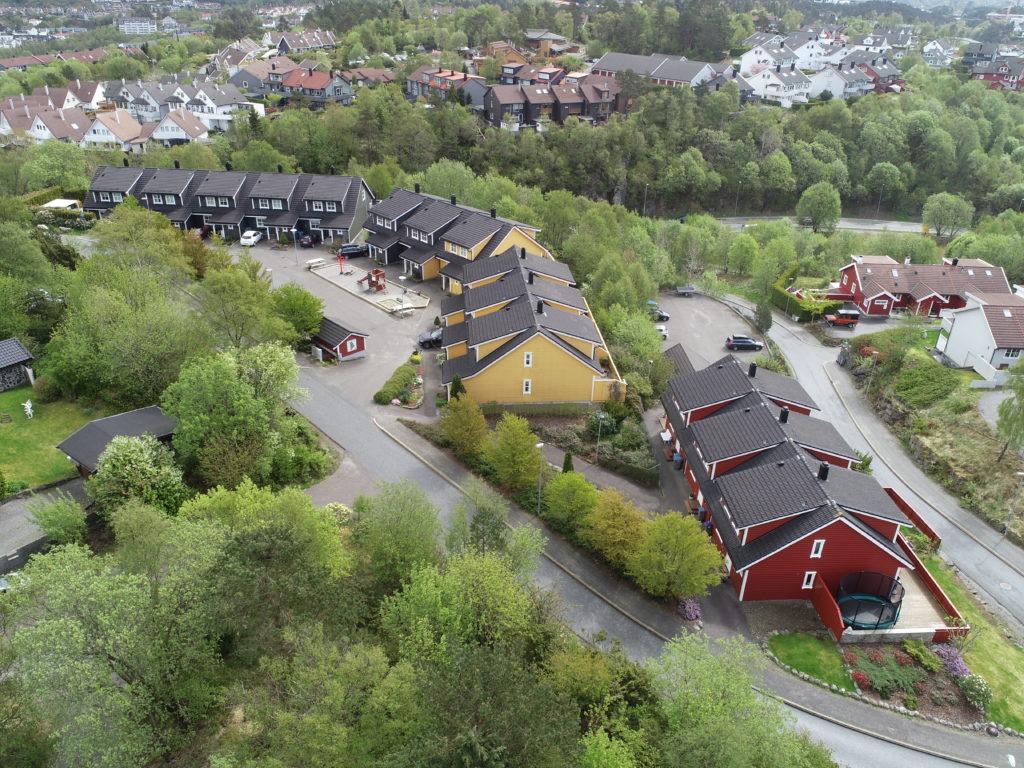 Dolvikhaugane , Søreide - 14 rekkehus